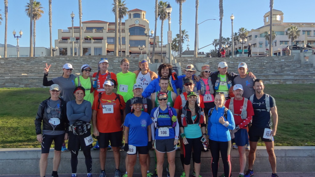 The Core and State runners at Huntington Beach, CA